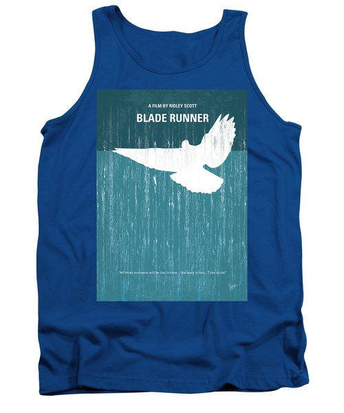 No011 My Blade Runner Minimal Movie Poster Tank Top