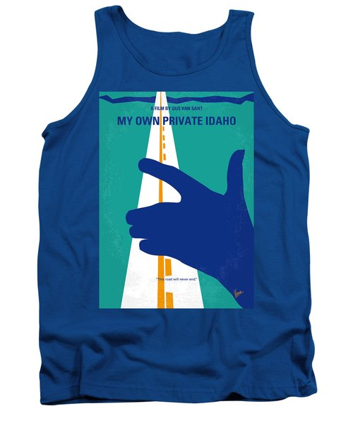 No472 My Own Private Idaho Minimal Movie Poster Tank Top