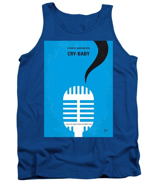 No505 My Cry-baby Minimal Movie Poster Tank Top by Chungkong Art