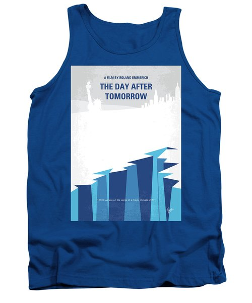No651 My The Day After Tomorrow Minimal Movie Poster Tank Top