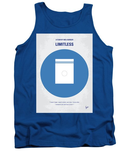 No828 My Limitless Minimal Movie Poster Tank Top