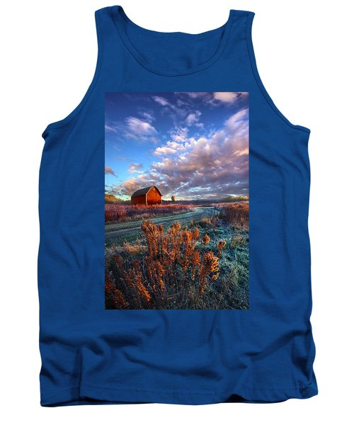 Not All Roads Are Paved Tank Top