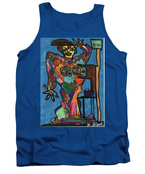 Nothing To Fear Tank Top by Darrell Black