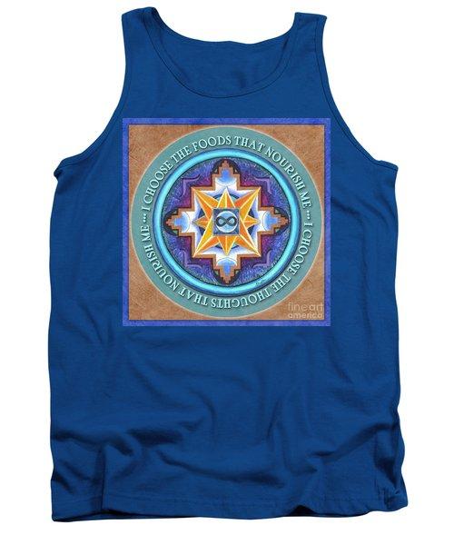 Nourish Mandala Prayer Tank Top