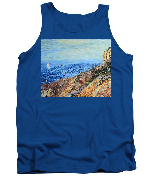 November Day At Point Lobos San Francisco Tank Top