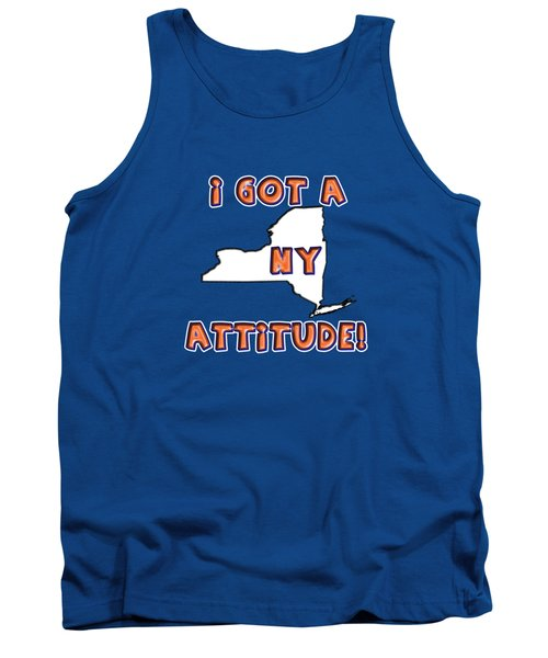 Ny Attitude-mets Colors Tank Top