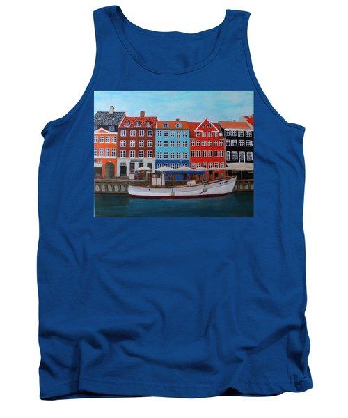 Nyhavn Copenhagen Tank Top
