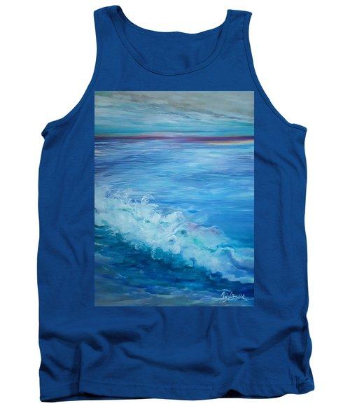 Ocean Blue Tank Top
