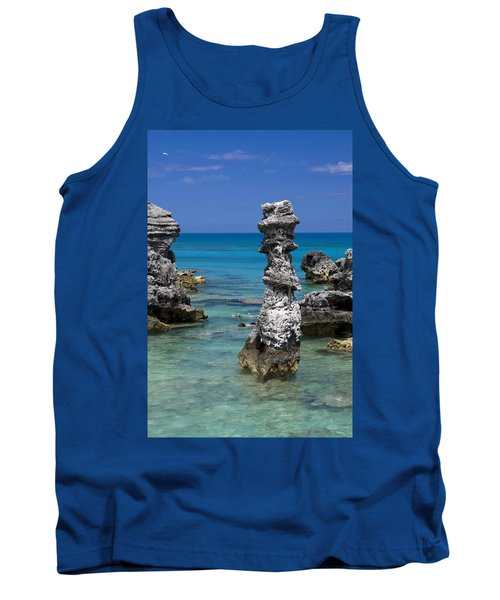 Ocean Rock Formations Tank Top