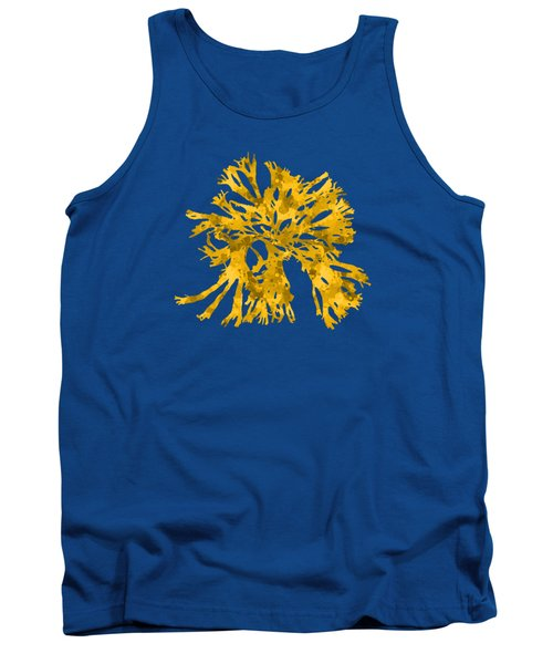Tank Top featuring the mixed media Ocean Seaweed Plant Art Rhodomenia Sobolifera Square by Christina Rollo