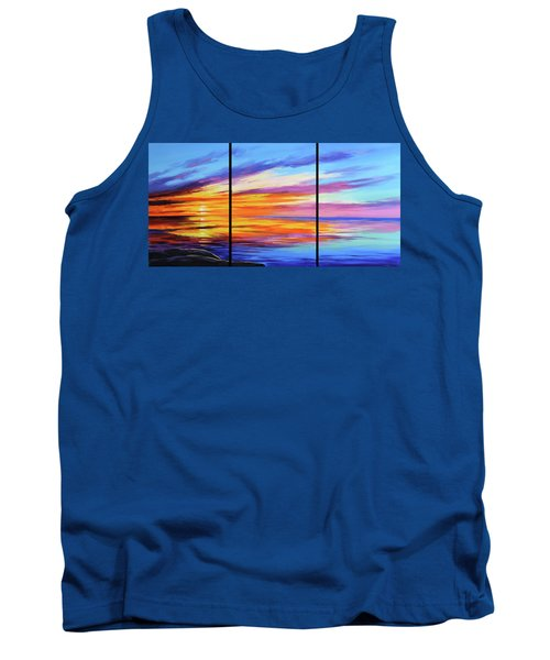 Ocean Sunset Tank Top