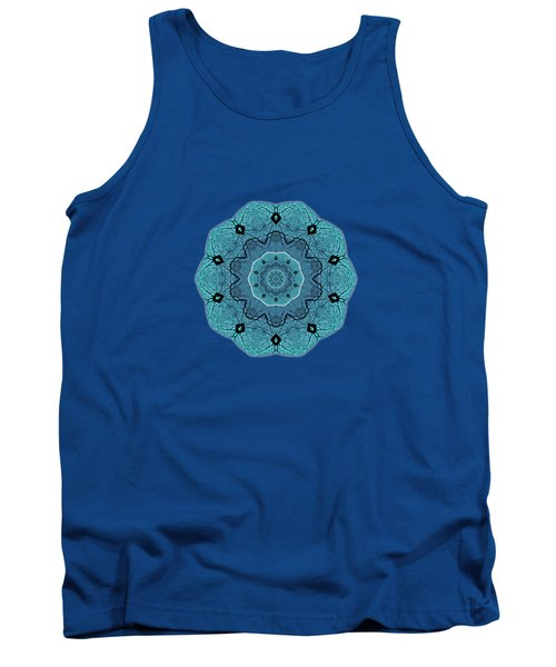 Ocean Swell Abstract Painting By V.kelly Tank Top