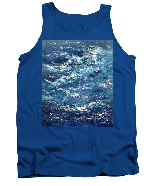 Ocean's Blue Tank Top