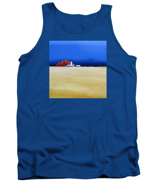 Tank Top featuring the painting October Fields by Jo Appleby