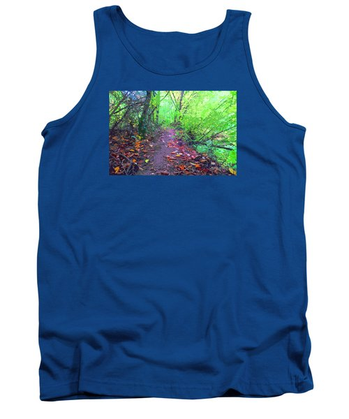 October Forest Pathway Tank Top