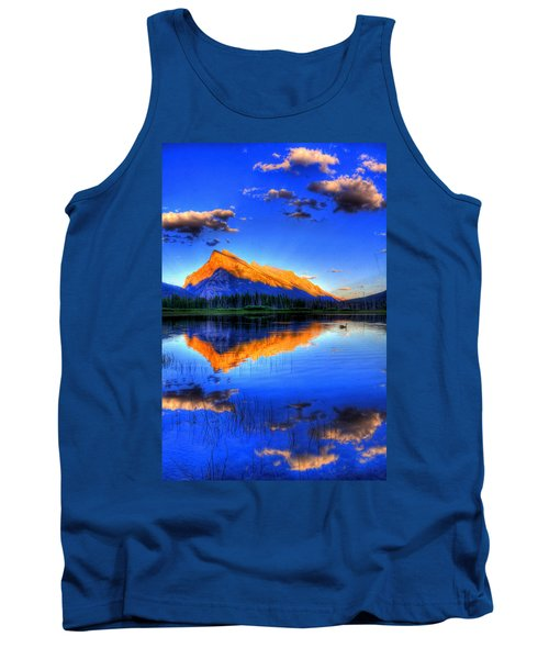 Of Geese And Gods Tank Top by Scott Mahon