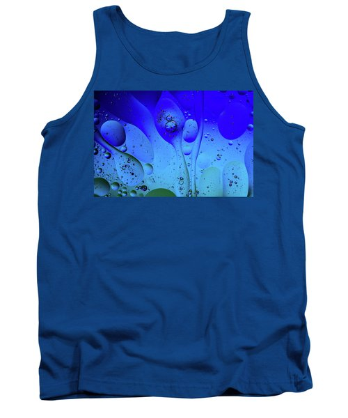 Oil And Water 12 Tank Top by Jay Stockhaus