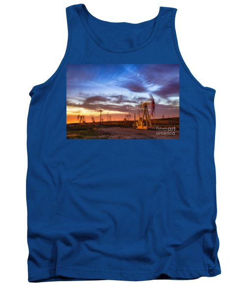 Oil Rigs 3 Tank Top