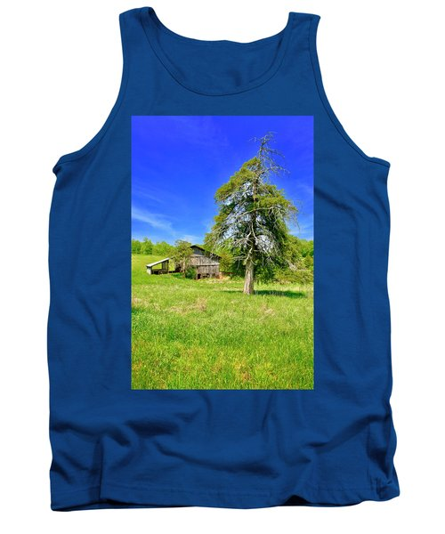 Old Barn, Smith Mountain Lake Tank Top