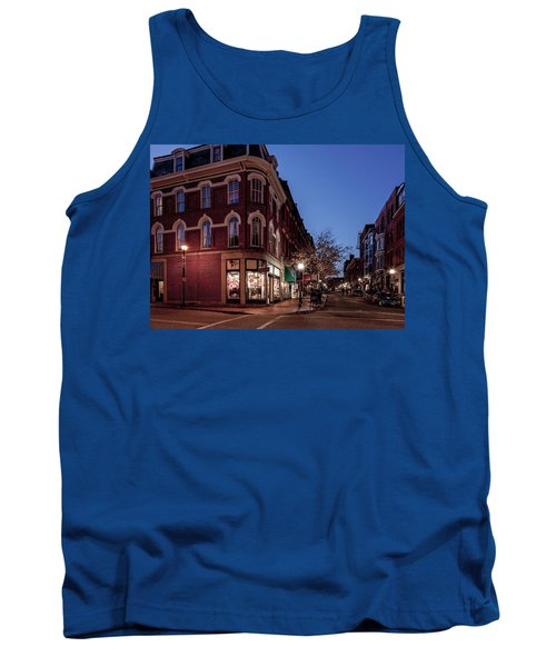 Old Port, Portland Maine Tank Top