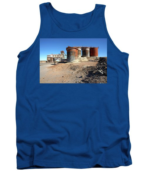 Old Silver Mine Broken Hill Tank Top