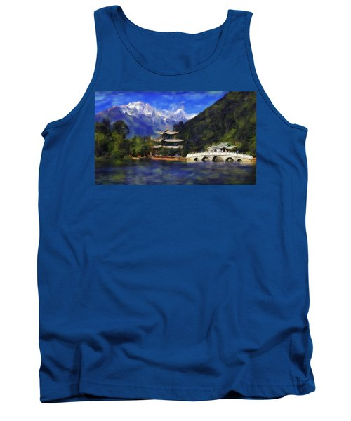 Old Town Of Lijiang Tank Top