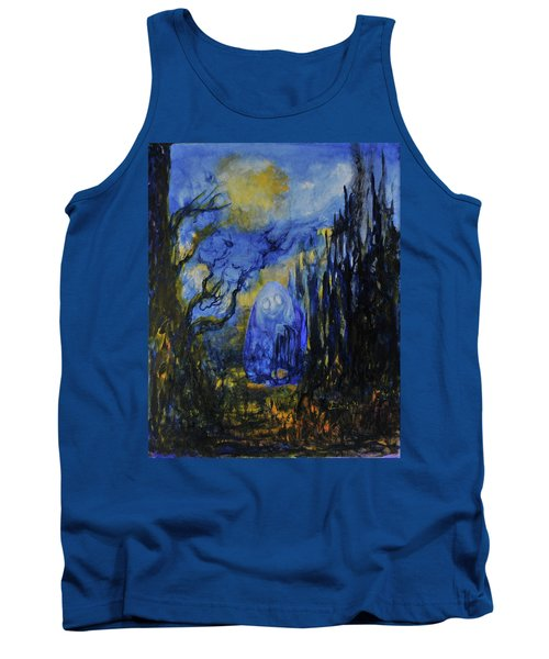 Tank Top featuring the painting Old Ways by Christophe Ennis