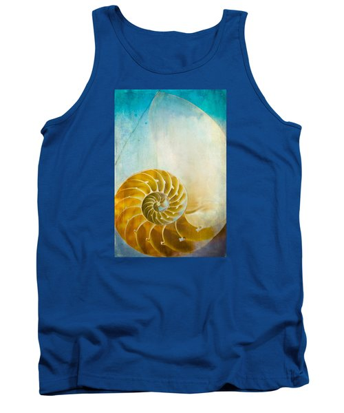 Tank Top featuring the photograph Old World Treasures - Nautilus by Colleen Kammerer