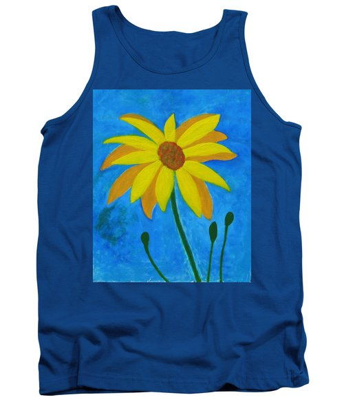 Old Yellow  Tank Top by John Scates