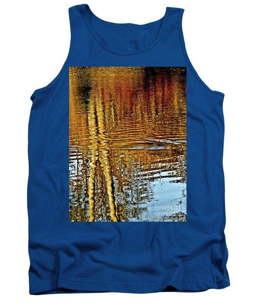 On Golden Pond Tank Top by Carol F Austin