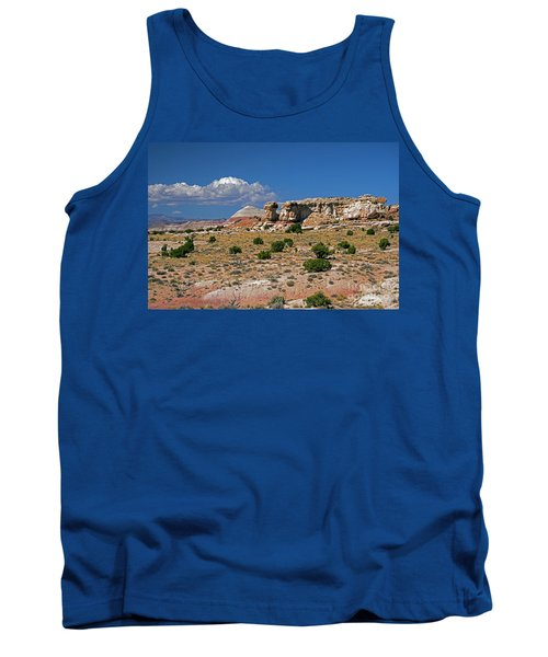 On The Road To Cathedral Valley  Tank Top