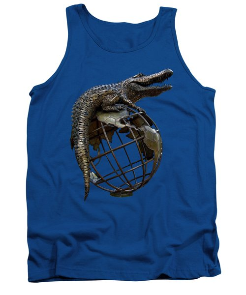 On Top Of The World Transparent For T Shirts Tank Top
