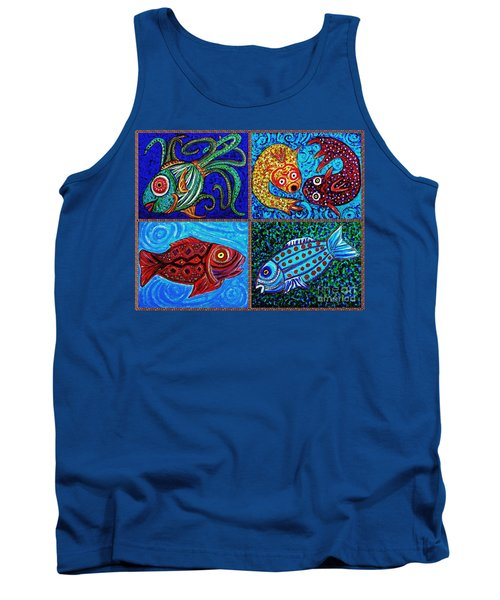 One Fish Two Fish Tank Top by Sarah Loft