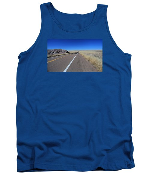 Tank Top featuring the photograph Open Road by Gary Kaylor