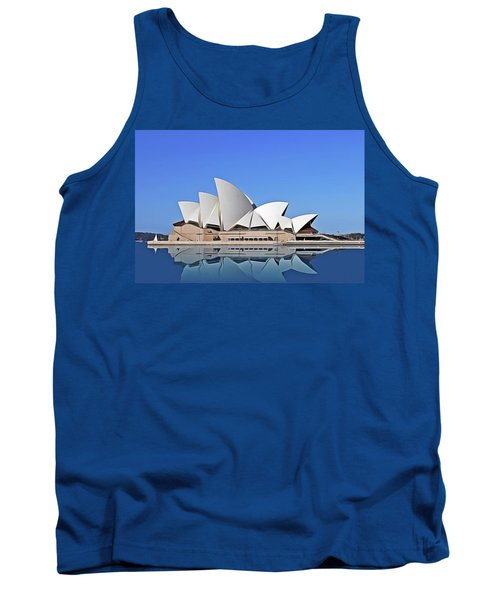 Tank Top featuring the painting Opera House by Harry Warrick