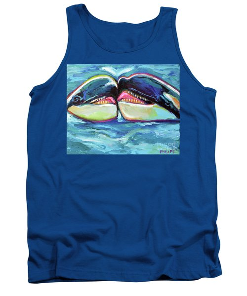 Orca Valentine Tank Top by Robert Phelps
