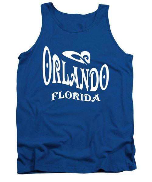 Orlando Florida Tshirt Design Tank Top by Art America Gallery Peter Potter