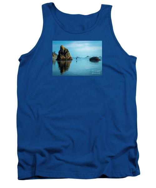 Outing In Ruby Beach,wa Tank Top