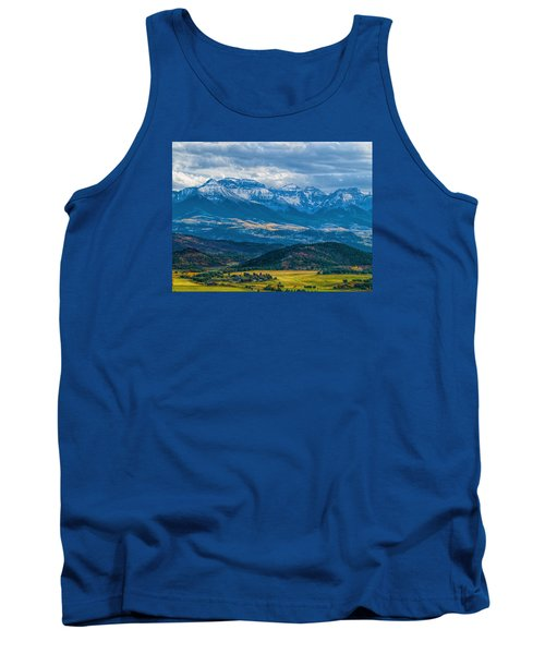 Outside Of Ridgway Tank Top by Alana Thrower