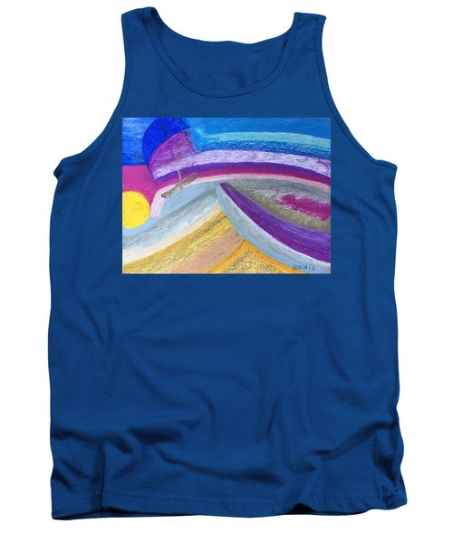 Over The Waves Tank Top