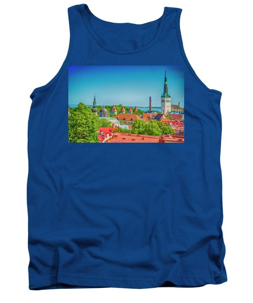 Overlooking Tallinn Tank Top