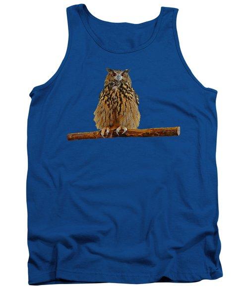 Owl Art Tank Top