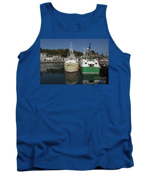 Padstow Fishing Boats Tank Top