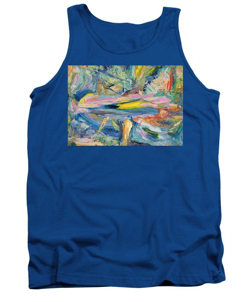 Paint Number 31 Tank Top by James W Johnson