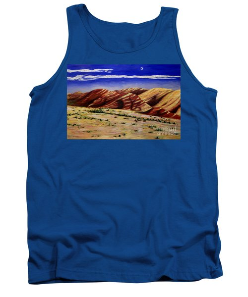 Painted Hills Tank Top by Lisa Rose Musselwhite
