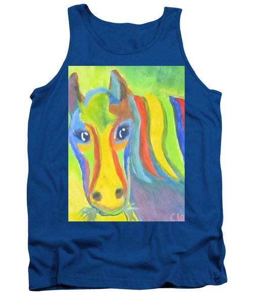 Painted Pony Tank Top by Cathy Long