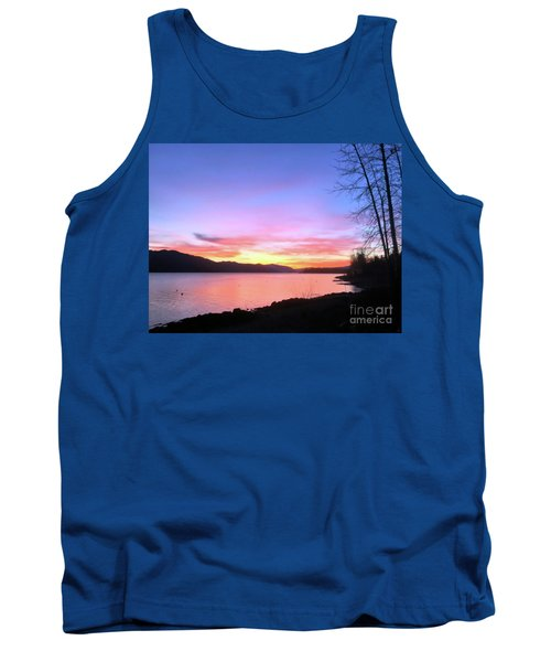 Painted Sky Tank Top by Victor K