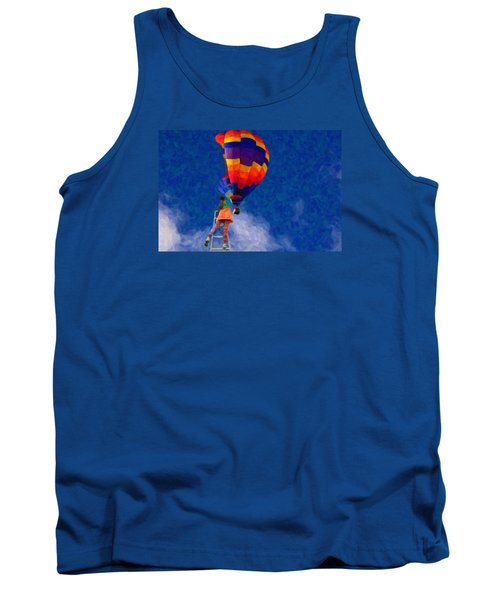 Painting The Sky Tank Top by Andre Faubert
