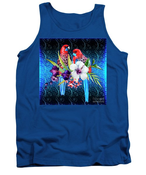 Paired Parrots Tank Top
