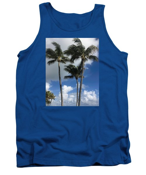 Tank Top featuring the photograph Palm by Arlene Carmel